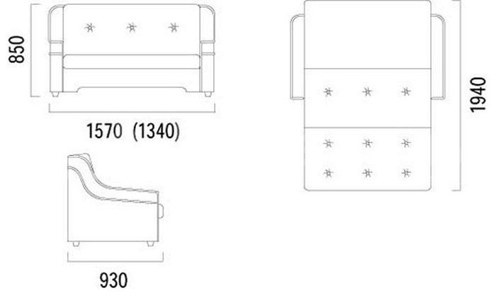 Американка - М - мебельная фабрика Ливс. Фото №4. | Диваны для нирваны