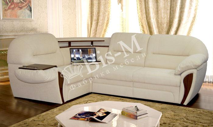 Лаура  з баром - мебельная фабрика Бис-М. Фото №2. | Диваны для нирваны