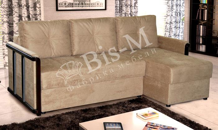Тина-2 с оттоманкой - мебельная фабрика Бис-М. Фото №2. | Диваны для нирваны