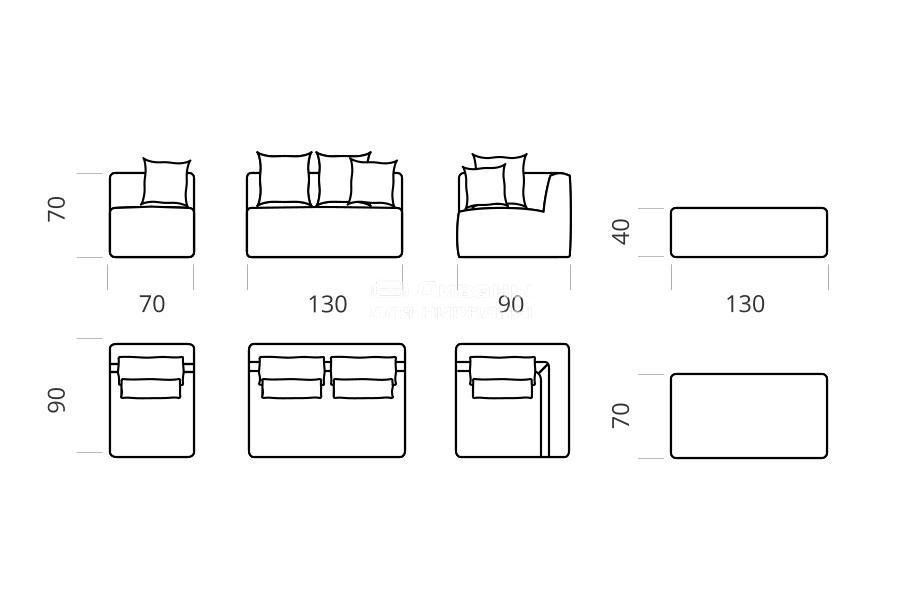 Максимус - мебельная фабрика Lado. Фото №3. | Диваны для нирваны